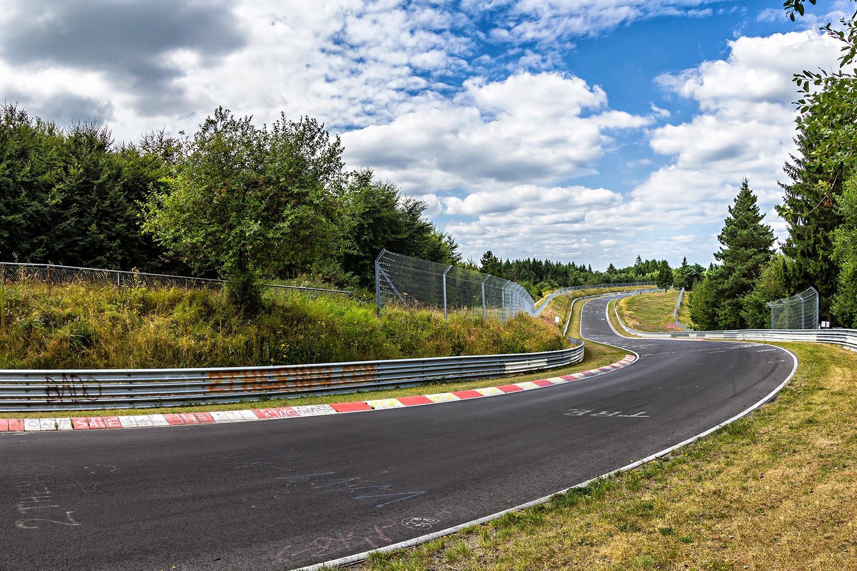 Driving Rental Car Nurburgring