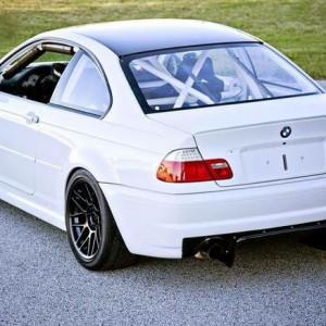 Nurburgring BMW M3 E46 rental rear
